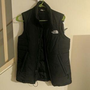 The North Face Black Vest Sz Small